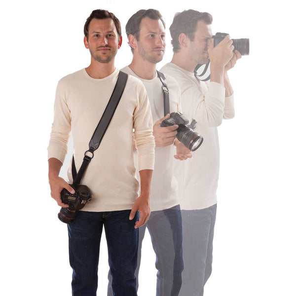 Joby UltraFit Sling Strap For Men (Charcoal), camera straps, Joby - Pictureline  - 1