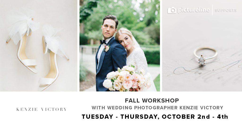 Fall Workshop with Wedding Photographer Kenzie Victory (October 2nd-4th, Tuesday-Thursday)