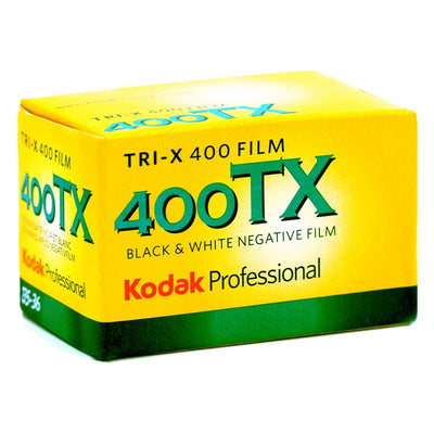 Kodak Tri-X Pan 400 135-36 B&W Film (One Roll), camera film, Kodak - Pictureline