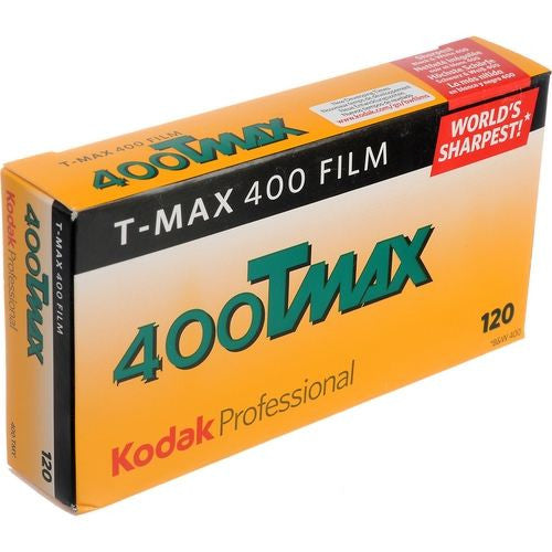Kodak TMAX 400 120 B&W Film (One Roll), camera film, Kodak - Pictureline