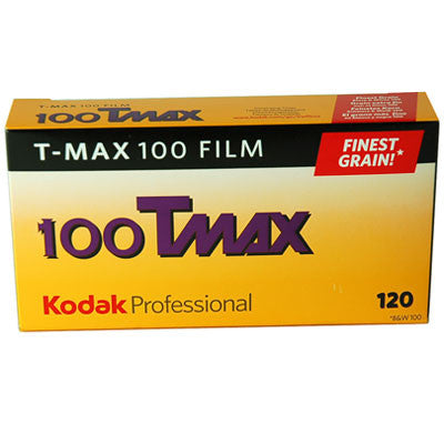 Kodak TMAX 100 120 B&W Film (One Roll), camera film, Kodak - Pictureline