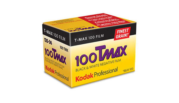 Kodak TMAX 100 135-36 B&W Film (One Roll), camera film, Kodak - Pictureline