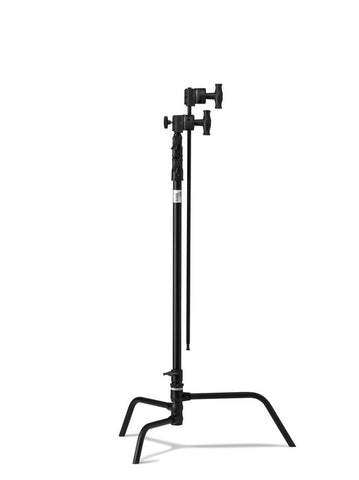 "Kupo Master 40"" C Stand with Turtle Base & Hex Arm Kit (Black), supports c-stands, Kupo - Pictureline  - 1"