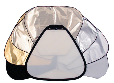 "Lastolite TriFlip 8-in-1 Grip Reflector Kit (30""), lighting reflectors, Lastolite - Pictureline"