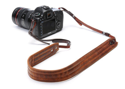 ONA Presidio Camera Strap - Antique Cognac, camera straps, ONA - Pictureline  - 1