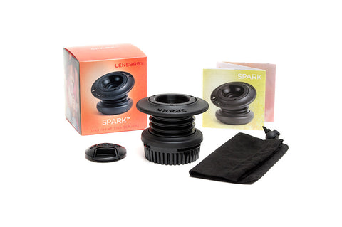 Lensbaby Spark for Nikon, lenses optics & accessories, Lensbabies - Pictureline  - 1