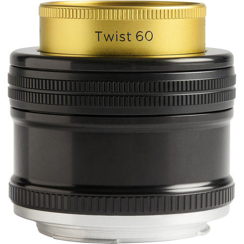 Lensbaby Twist 60 Optic for Canon EF, lenses optics & accessories, Lensbabies - Pictureline  - 1