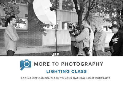 Adding Profoto Off Camera Flash to your Natural Light Portraits (June 16th, Saturday)