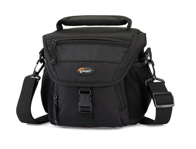 Lowepro Nova 140 AW Camera Shoulder Bag (Black), bags shoulder bags, Lowepro - Pictureline  - 1