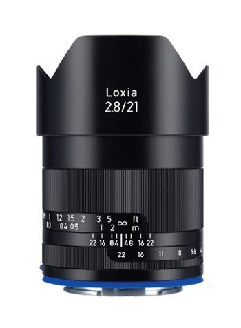 Zeiss Loxia 21mm f/2.8 Lens for Sony FE Mount, lenses mirrorless, Zeiss - Pictureline