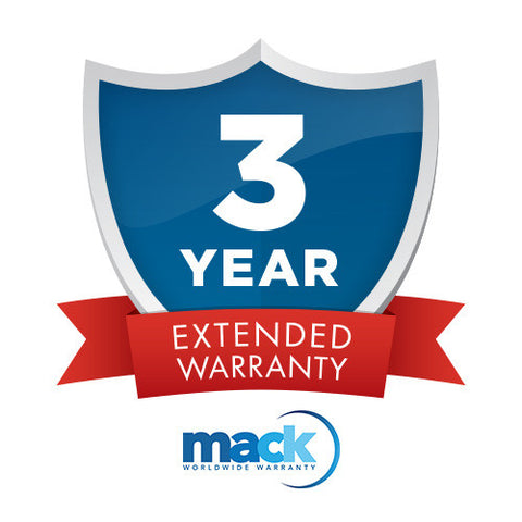 Mack Diamond Warranty 3 Yrs. under $3000, cameras protection & maintenance, Mack Camera & Video Service - Pictureline