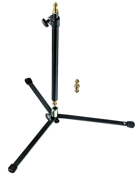 Manfrotto 012B Black Backlite Stand with Pole, supports regular stands, Manfrotto - Pictureline