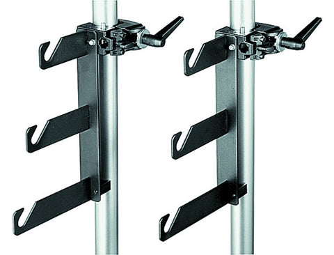 Manfrotto 044 Background Holder Hooks and Super Clamps, supports wall mounts, Manfrotto - Pictureline