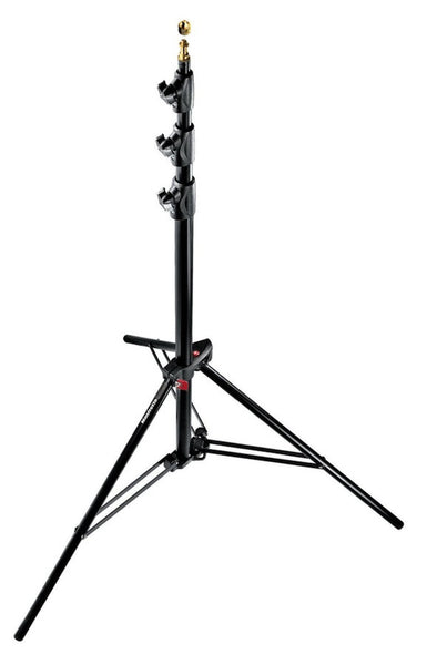Manfrotto 1004BAC Black Ranker Stand Air Cushioned 12', supports stacker stands, Manfrotto - Pictureline