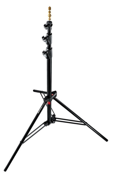 Manfrotto 1005BAC Black Ranker Stand Air Cushioned 9', supports stacker stands, Manfrotto - Pictureline