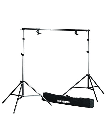 Manfrotto 1314B Background Support System (bag, stands, support & spring), supports wall mounts, Manfrotto - Pictureline
