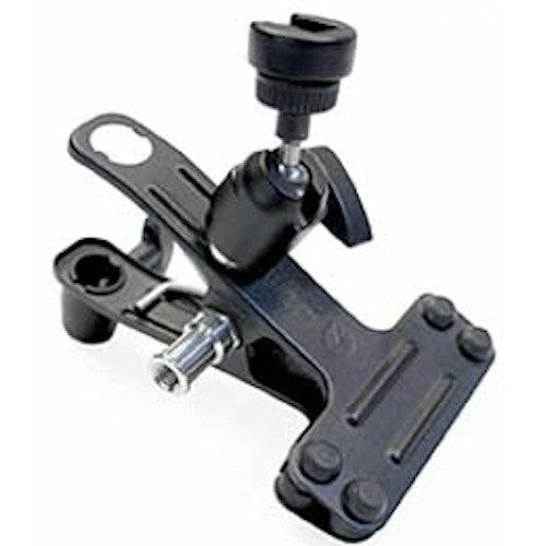 Manfrotto 175F-1 Spring Clamp w/Flash Shoe, supports general accessories, Manfrotto - Pictureline