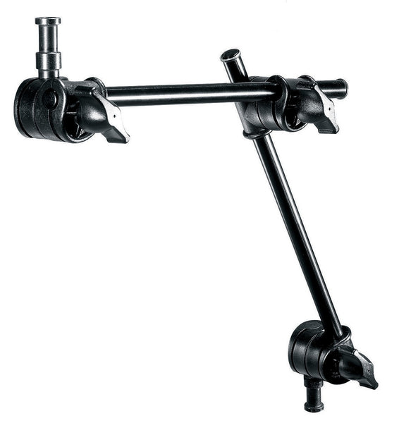 Manfrotto 196AB-2 Single Articulated Arm Without Camera Bracket, supports general accessories, Manfrotto - Pictureline