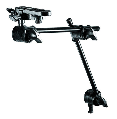 Manfrotto 196B-3 2-Section Single Articulated Arm w/Camera Bracket (143Bkt), supports general accessories, Manfrotto - Pictureline