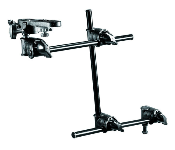 Manfrotto 196B-3 3-Section Single Articulated Arm W/Camera Bracket (143Bkt), supports general accessories, Manfrotto - Pictureline