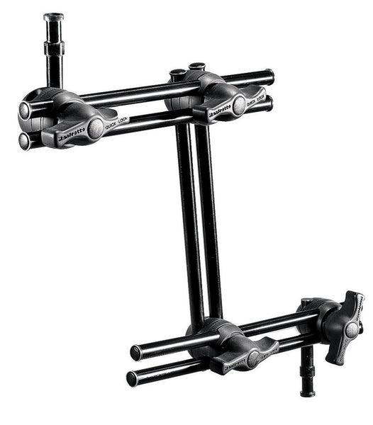 Manfrotto 396AB-3 3-Section Double Articulated Arm Without Camera Bracket, supports general accessories, Manfrotto - Pictureline