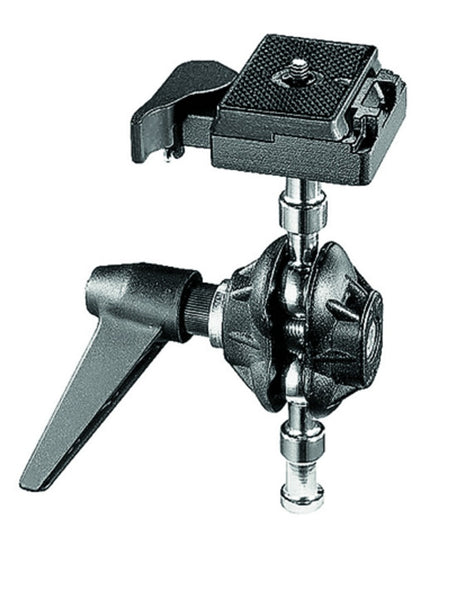 Manfrotto 155RC Tilt Top Head w/ Quick Plate, tripods other heads, Manfrotto - Pictureline