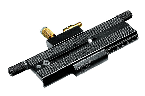 Manfrotto 454 Micro Positioning Sliding Plate, tripods plates, Manfrotto - Pictureline