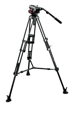 Manfrotto Video 504HD, 546BK Video Tripod System with Bag, tripods video tripods, Manfrotto - Pictureline