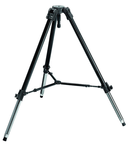 Manfrotto Video 528XB 1-Stage Heavy Duty 100mm Bowl Tripod, tripods video tripods, Manfrotto - Pictureline