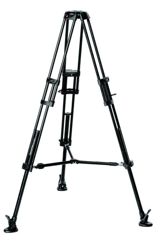 Manfrotto Video 546B Pro Tripod with Mid Level Spreader, tripods video tripods, Manfrotto - Pictureline