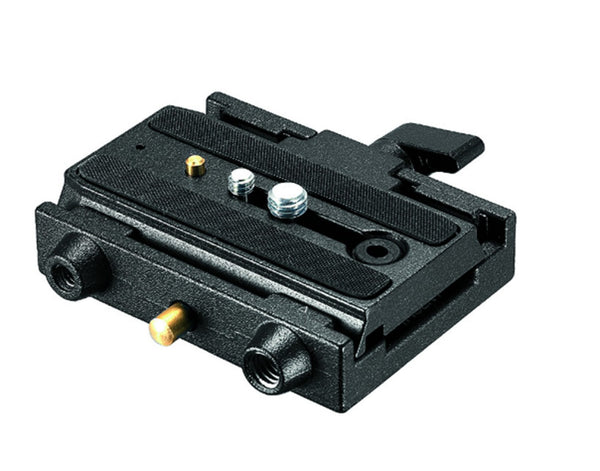 Manfrotto 577 Quick Release Adapter w/ Sliding Plate, tripods plates, Manfrotto - Pictureline