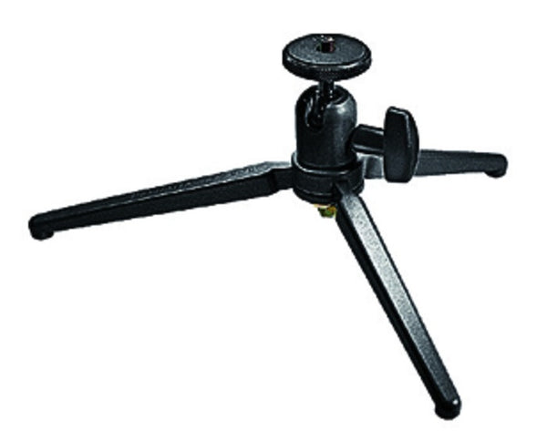 Manfrotto 709B Black Digital Table Tripod with Ball Head, tripods travel & compact, Manfrotto - Pictureline