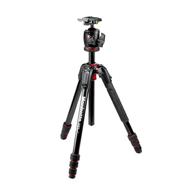 Manfrotto 190go! Aluminum 4 Section Tripod with Ball Head