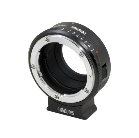 Metabones Mount Adapter Nikon G Lens to Micro Four Thirds Lens, lenses optics & accessories, Metabones - Pictureline  - 1