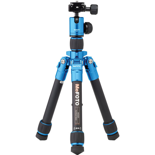 MeFOTO DayTrip Tripod Kit (Blue), tripods travel & compact, MeFOTO - Pictureline