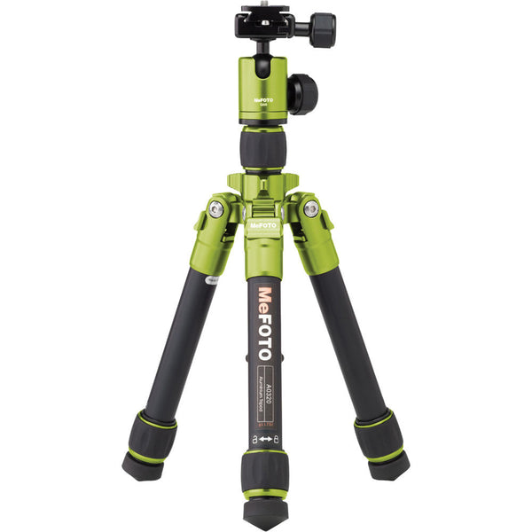 MeFOTO DayTrip Tripod Kit (Green), discontinued, MeFOTO - Pictureline  - 1