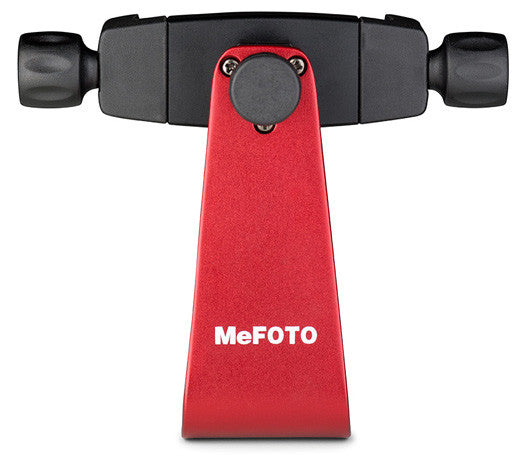 MeFOTO SideKick360 SmartPhone Adapter (Red), tripods other heads, MeFOTO - Pictureline  - 1