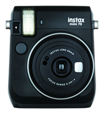 Fujifilm INSTAX Mini 70 Instant Film Camera (Midnight Black), camera film cameras, Fujifilm - Pictureline  - 1