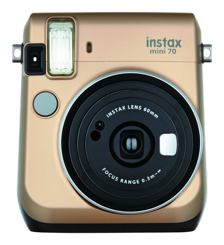 Fujifilm INSTAX Mini 70 Instant Film Camera (Stardust Gold), camera film cameras, Fujifilm - Pictureline  - 1