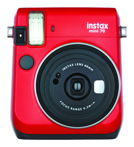 Fujifilm INSTAX Mini 70 Instant Film Camera (Passion Red), camera film cameras, Fujifilm - Pictureline  - 1