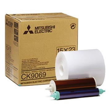 "Mitsubishi 6""x9"" Printer Roll Paper 270 Prints, papers thermal paper & ribbon, Mitsubishi Imaging - Pictureline"