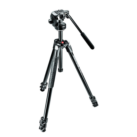 Manfrotto MK290XTA3-2WUS Tripod w/2-Way Head, tripods photo tripods, Manfrotto - Pictureline  - 1