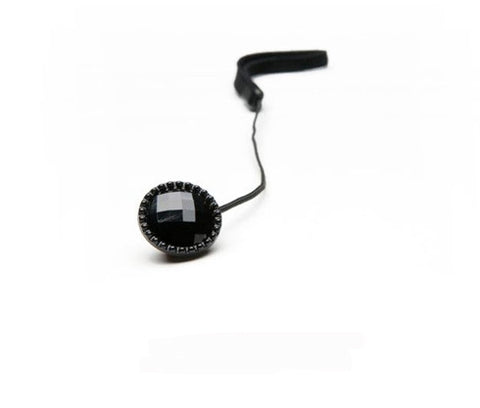 MOD Black Rhinestone Lens Cap Holder, lenses lens caps, MOD - Pictureline