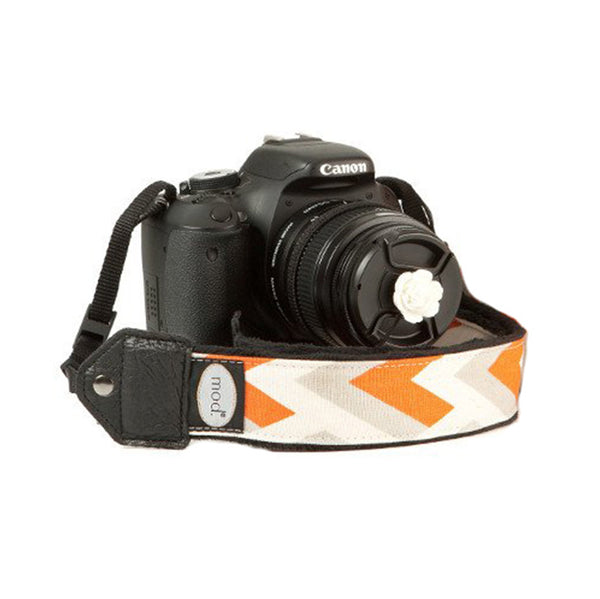 MOD Orange Summit Classic Camera Strap, camera straps, MOD - Pictureline