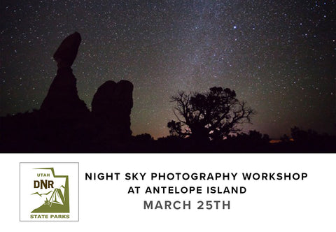 Night Sky Photography Workshop at Antelope Island (March 25th)