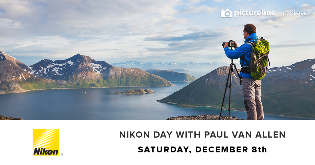 Nikon Day with Paul Van Allen (December 8th, Saturday)