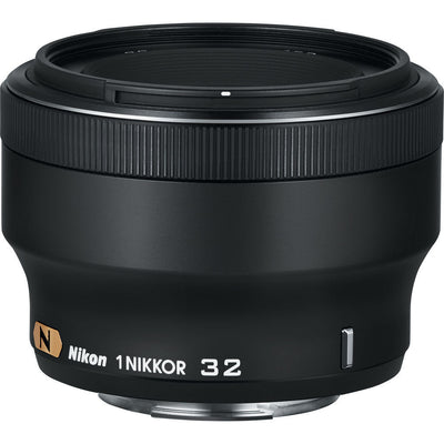 Nikon 1 Nikkor 32mm f/1.2 CX Lens Black, discontinued, Nikon - Pictureline  - 1