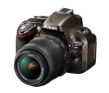 Nikon D5200 DX Digital SLR Camera w/ 18-55mm DX VR Lens (Bronze), discontinued, Nikon - Pictureline  - 3