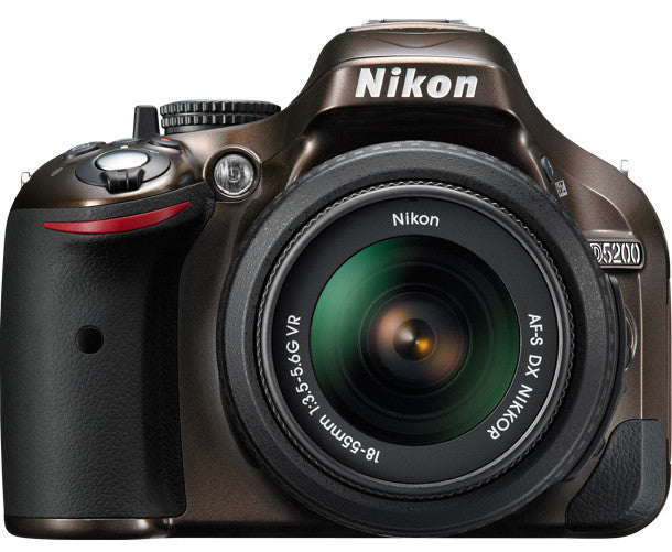 Nikon D5200 Dx Digital Slr Camera W 18 55mm Dx Vr Lens Bronze