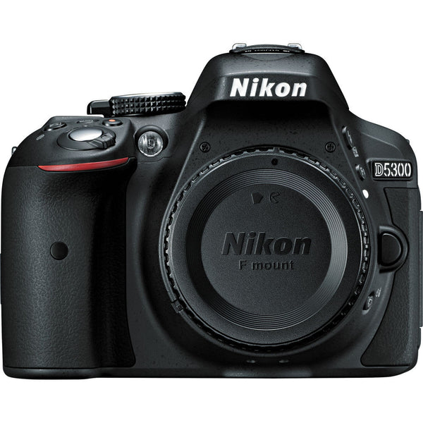 Nikon D5300 DX Digital SLR Camera Body Black, discontinued, Nikon - Pictureline  - 1